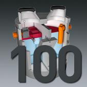 PCM Mineralölabscheider - Nenngröße 100