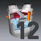 PCM Mineralölabscheider - Nenngröße 12
