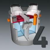 PCM Mineralölabscheider - Nenngröße 4