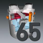 PCM Mineralölabscheider - Nenngröße 65