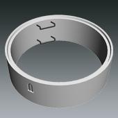 Ringprogramm DN1500 NORD - Ring mit Steighilfe lose