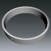 Ringprogramm DN2500 SÜD - Ring gelocht