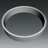 Ringprogramm DN2500 WEST - Ring gelocht
