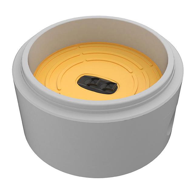 Schachtboden mit PVC-Putzstück