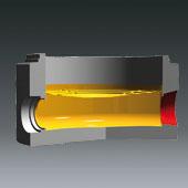 Ausprägungen für Schachtbodenteile DN1000, DN 800 u. DN600 - Ausprägung für Muffenschrägstellung