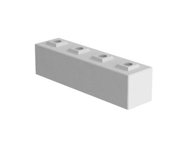 Variable Betonwand - Standardstein