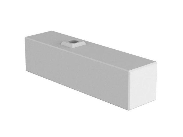 Variable Betonwand - Basisstein freistehend (foundation)
