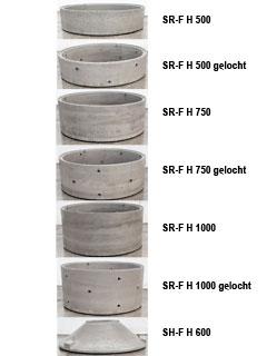 Schachtringe mit Falz DN 2000, WS 90