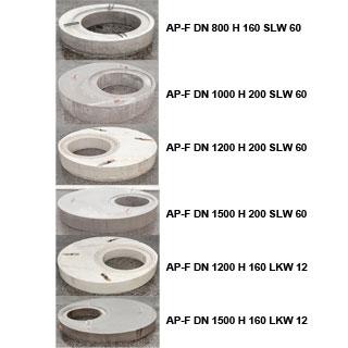 Abdeckplatte Beton-Falz für DN 1000-2500
