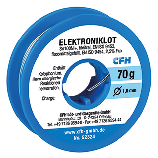Elektroniklot EL 324 bleifrei 70 g