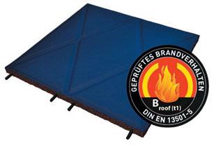 step roof PVC - Bautenschutzplatte für Flachdächer