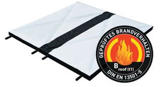 step roof FPO - Bautenschutzplatte für Flachdächer