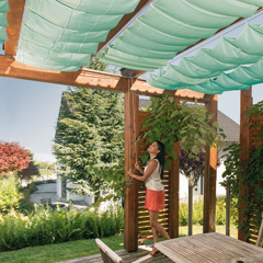 hagebau windhager sonnensegel sunsail riviera baustoffkataloge. Black Bedroom Furniture Sets. Home Design Ideas