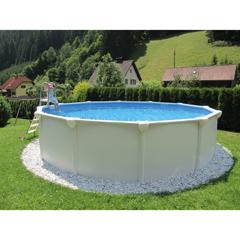 Hagebau steinbach mesh lounge baustoffkataloge for Pool komplettset hagebau