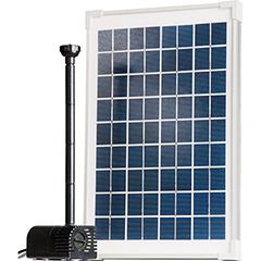 Mr. Gardener Solar-Teichpumpen-Set SP 350