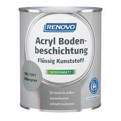RENOVO Acryl Bodenbeschichtung, Flüssig Kunststoff