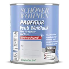 SCHÖNER WOHNEN ProfiDur Venti Weißlack
