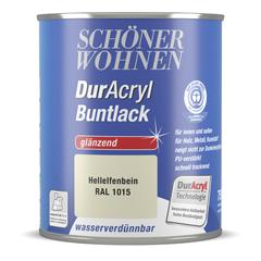 SCHÖNER WOHNEN DurAcryl Buntlack glänzend