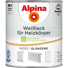 ALPINA Weißlack für Heizkörper