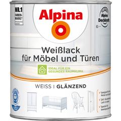 ALPINA Weißlack für Möbel und Türen