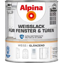 ALPINA Weißlack für Fenster und Türen
