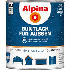ALPINA Buntlack für Außen