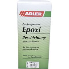 ADLER 2K-Epoxi-Beschichtung für Garagenböden