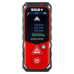 SOLA Laserentfernungsmesser VECTOR 100 PRO
