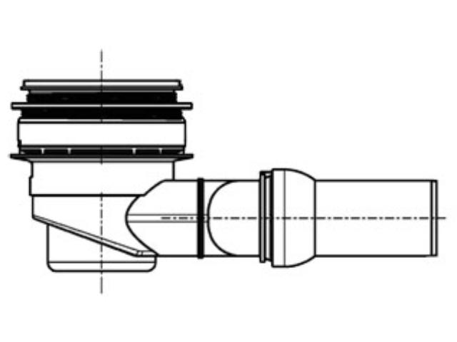 PCI Pecibord® Bodenablauf W