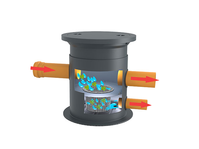 Filterschacht Extern