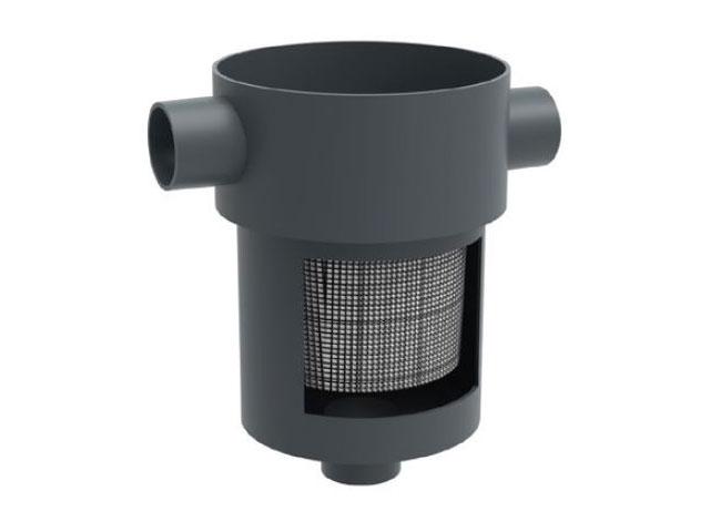Geofilter mit Filterkorb