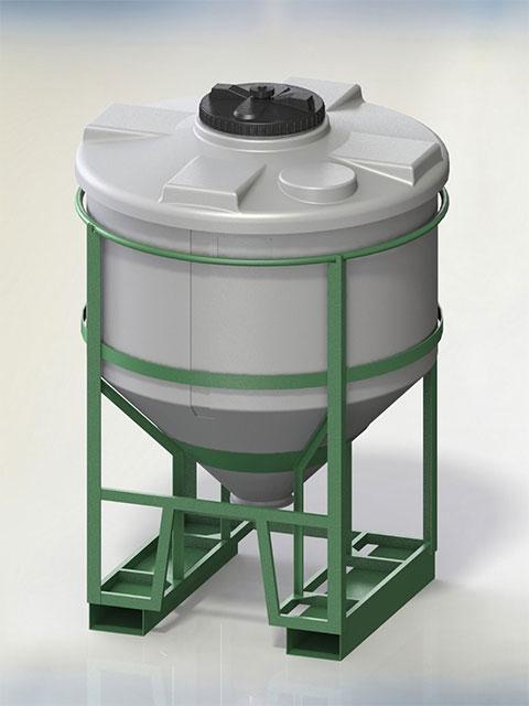 Container TCC (650 - 2.000 Liter)