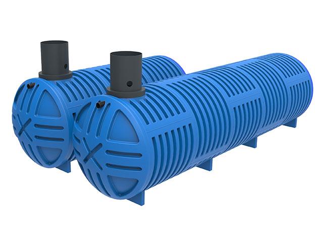 Aqua'Terne Doppelwand-Tanks für Abwasser