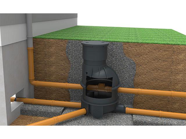 geoplast kontrollschacht f r trennkanalsysteme baustoffkataloge. Black Bedroom Furniture Sets. Home Design Ideas
