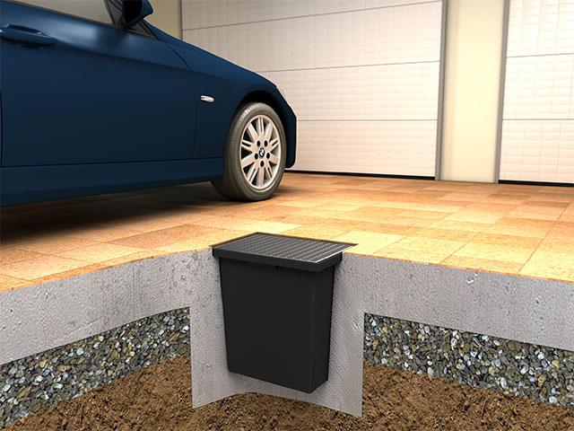 Garagensicherheitswanne