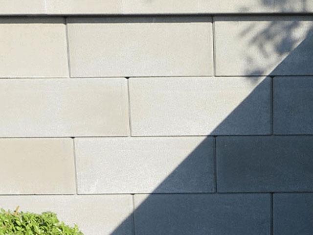 Standard Zaun- und Mauerstein