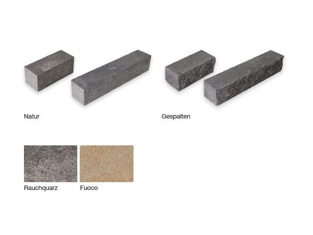 Kartäuser Konstruktionsstein gespalten