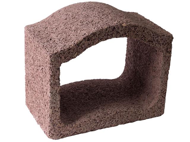 Durisol Weinlagerstein-Abschlusselement klein