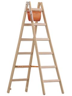 Holz-Stehleiter 1053 nach Ö-NORM Z1501