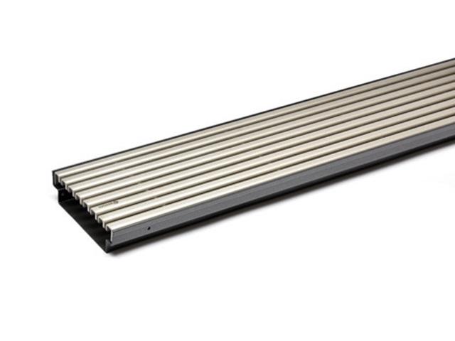 AquaDrain® KRU-PE Profildesign-Rost Kastenrinne 40 mm