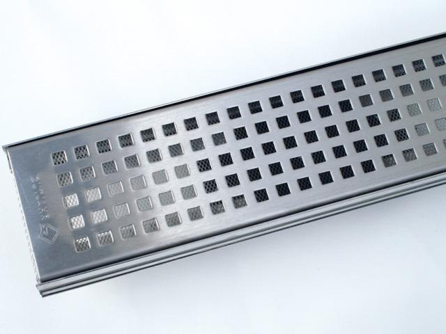 AquaDrain® TM-QE Quadratdesign-Rost