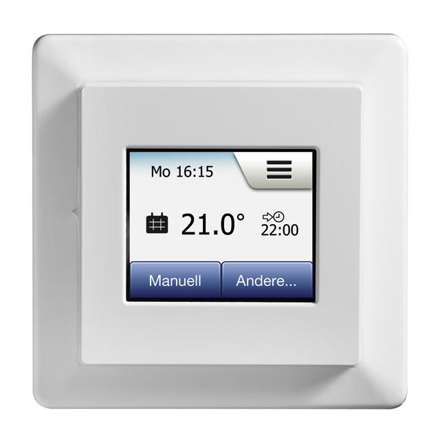 IndorTec® THERM-E TM Manuelles Thermostat inkl. Bodenfühler