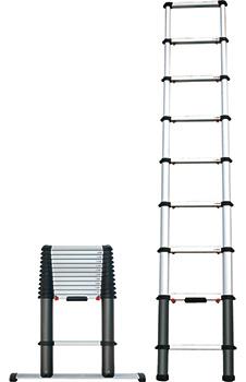 Teleskop-Anlegeleiter EVO-PRO
