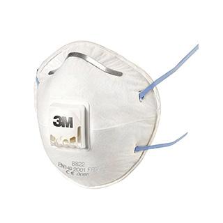 Maske für Handschleifen und Elektrowerkzeugarbeiten 8822
