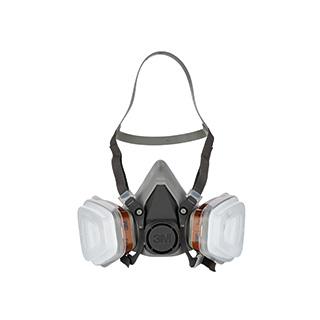 Maske für Farbspritzarbeiten 6002C
