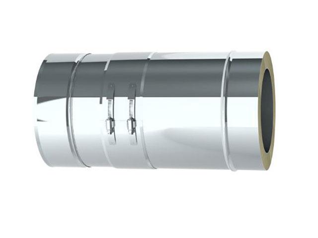 Einzelteile - Längenausgleichselement 260 - 380 mm für den Überdruck bis 200° C / 200 Pa