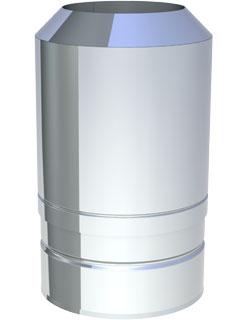 Einzelteile - Abschlusselement für den Überdruck bis 600° C / 5000 Pa