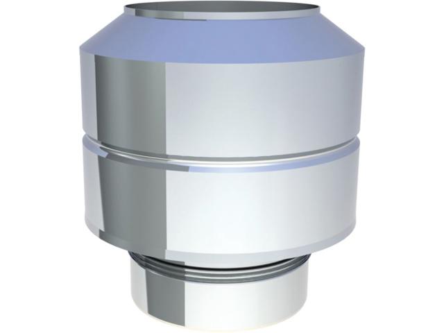 Einzelteile - Abschlusselement für den Überdruck bis 200° C / 200 Pa
