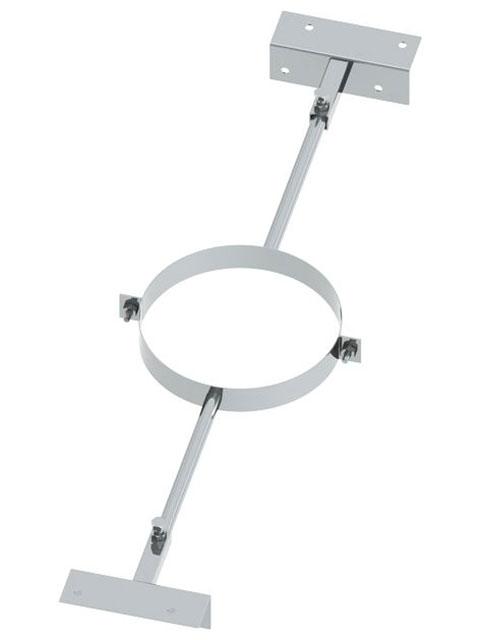 Einzelteile - Sparrenhalter verstellbar 500 - 900 mm