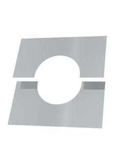 Einzelteile - Blendblech zweigeteilt 1° - 65°